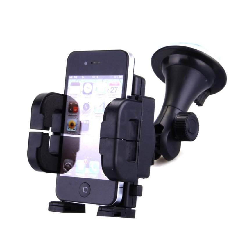 Elenxs Car 360°Air Vent Suction Holder Cradle Mount for GPS Cell Mobile Phone iPhone
