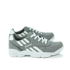 ESSAN New Mens Casual Shoes Fashion Sports Shoes Men (Grey) (Intl)