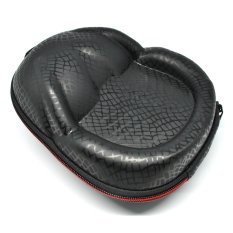 EVA Frog PU Carrying Case For Headphones - Black