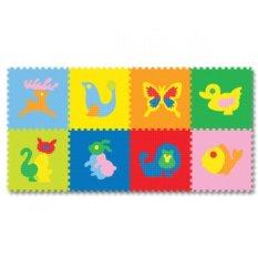 Evamat Puzzle Hewan - 30x30x1 cm - 8 buah