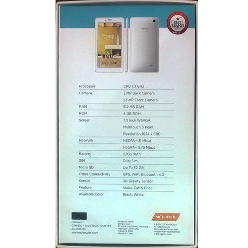Evercoss AT7E Jump Tab - 4GB - Putih