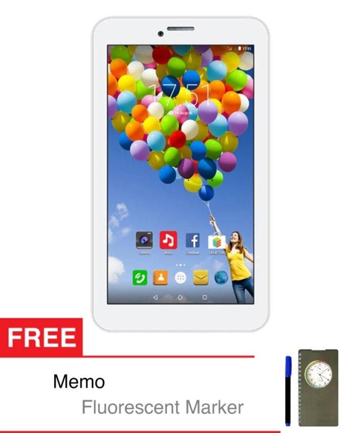 Evercoss Winner Tab S3 - 8 GB - Putih + Gratis Memo