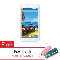 Evercoss Winner Y2+ Power - 16GB - Putih + Gratis Powerbank 5600 mAh