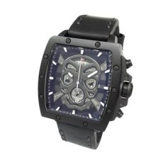 Expedition 6688 Voyage's Vestige - Jam Tangan Pria Expedition 6688 Mclipba - Leather Strap - Full Black