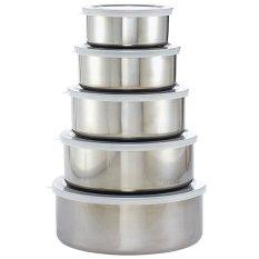 Fantasy 5 In 1-Stainless Steel Food Storage & Savers - Intl