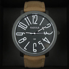 Fashion And Simple Style Ladies Watch (Black)