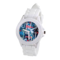 Fashion Silicone Rubber Jelly Gel Quartz Analog Sports Women Wrist Watch
