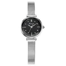 Fehiba KIMIO Fashion Trend Hot Fashion Watch Casual Watch Quartz Watch Fashion Female Form Female Models 6110 (Black)