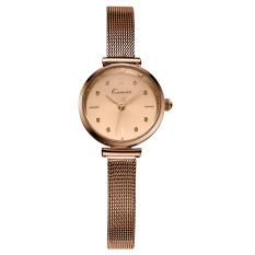 Fehiba KIMIO Fashion Trend Hot Fashion Watch Casual Watch Quartz Watch Fashion Female Form Female Models 6110 (Brown)