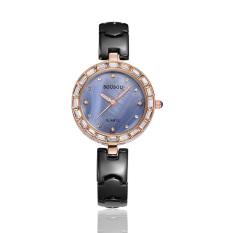 Fehiba Sousou 2016 Popular New Leisure Fashion Watches Ladies Watches Ladies Quartz Ceramic Table Wholesale (Gold)