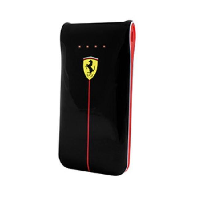 Ferrari Powerbank 5000 Mah Dual Output 2.1 A  FEGLEB50BL - Hitam