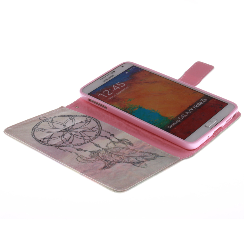 Filp Leather Case for Samsung Galaxy Note 3 (Multicolor) (Intl)