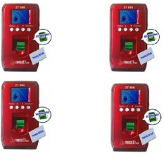 FingerPlus ZT 988 Set 4 Fingerprint Portabel Include Baterai Backup