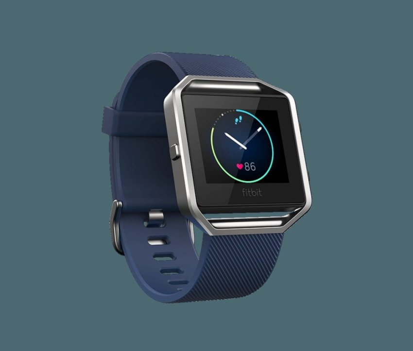 Fitbit Blaze Smart Fitness Watch - Size L - Blue