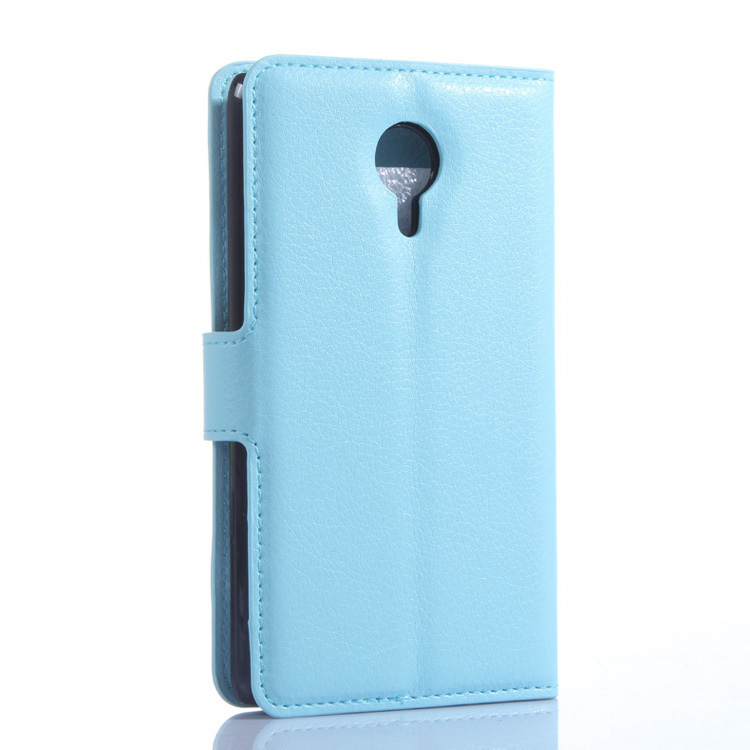 Flip Leather Cover for Meizu MX4 (Blue) (Intl)