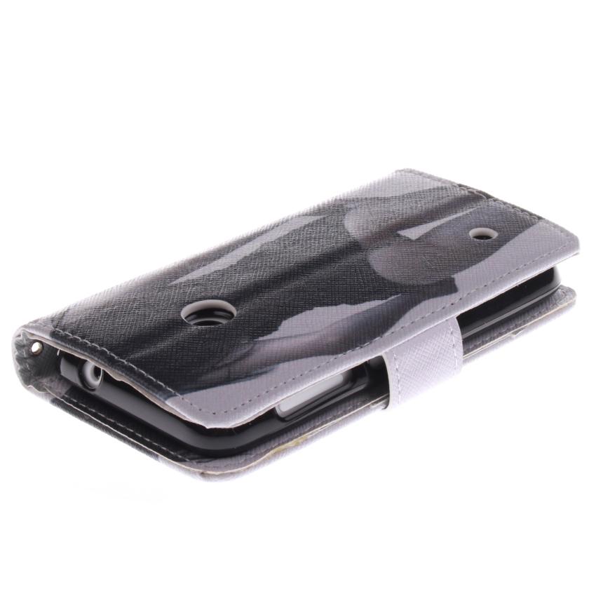 Flip Leather Cover for Nokia Lumia 530 (Black) (Intl)