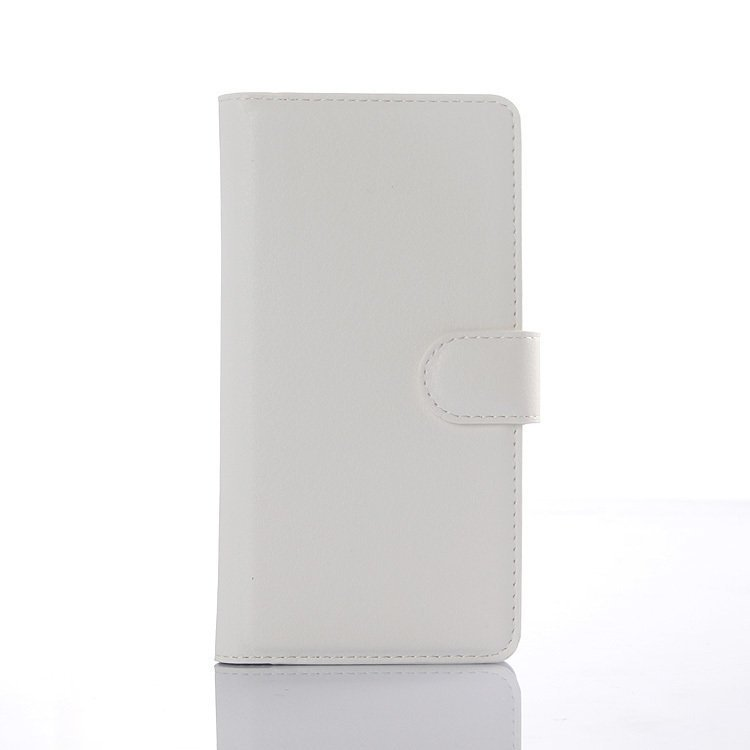 Flip Leather Cover for Wiko Rainbow UP (White) (Intl)