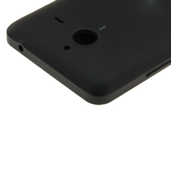 Flip Leather Cover + Plastic Replacement for Microsoft Lumia 640XL(Black) (Intl)