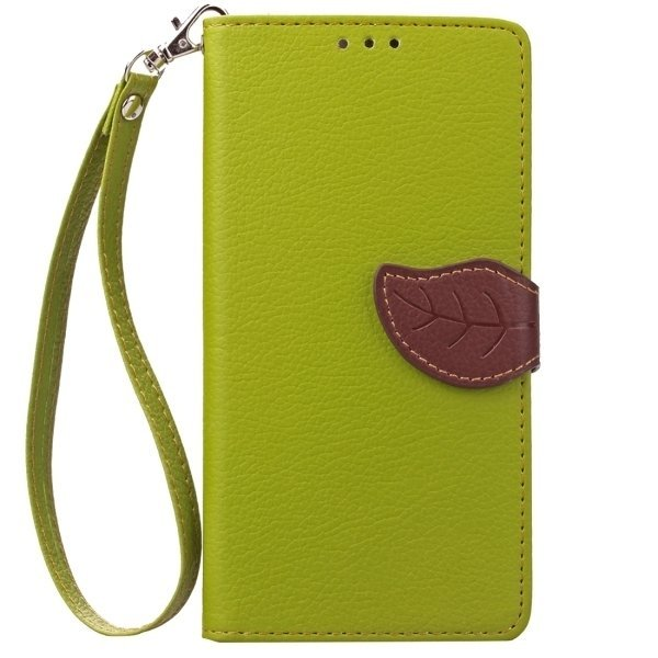 Flip Leather Cover with Card Slots & Wallet & Holder & Lanyard for Google Nexus 6P (Green) (Intl)