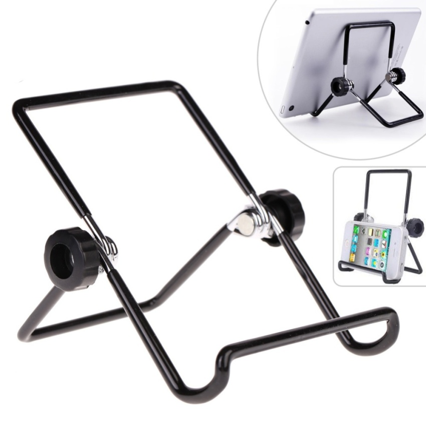 Foldable Adjustable Stand Bracket Holder Mount (Black) (Intl)