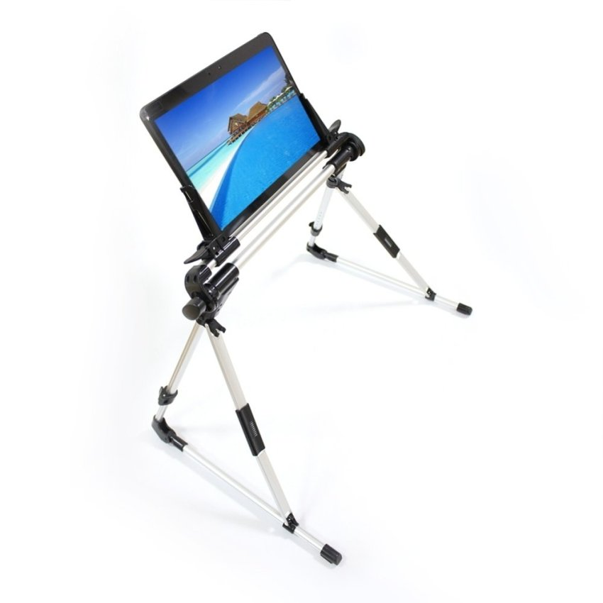 Foldable Desk Floor Stand Lazy Bed Tablet Holder Mount for iPhone 6 Plus 6 5S 5C 5/5G 4S 4 , iPad Air 5 iPad 2 3 4 Any Tablet/ PAD /GPS (iPad Air 5 iPad 2 3 4) (Intl)