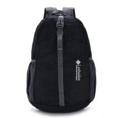Folding outdoor travel backpack waterproof nylon - Intl