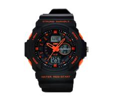 Foorvof Mens Outdoor Military Sport Wrist Watches (Orange)