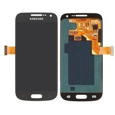 For Samsung Galaxy S4 Mini I9190 I9195 GREY Lcd Screen Touch Screen Touch Lens Digitizer Replacement Parts - Intl