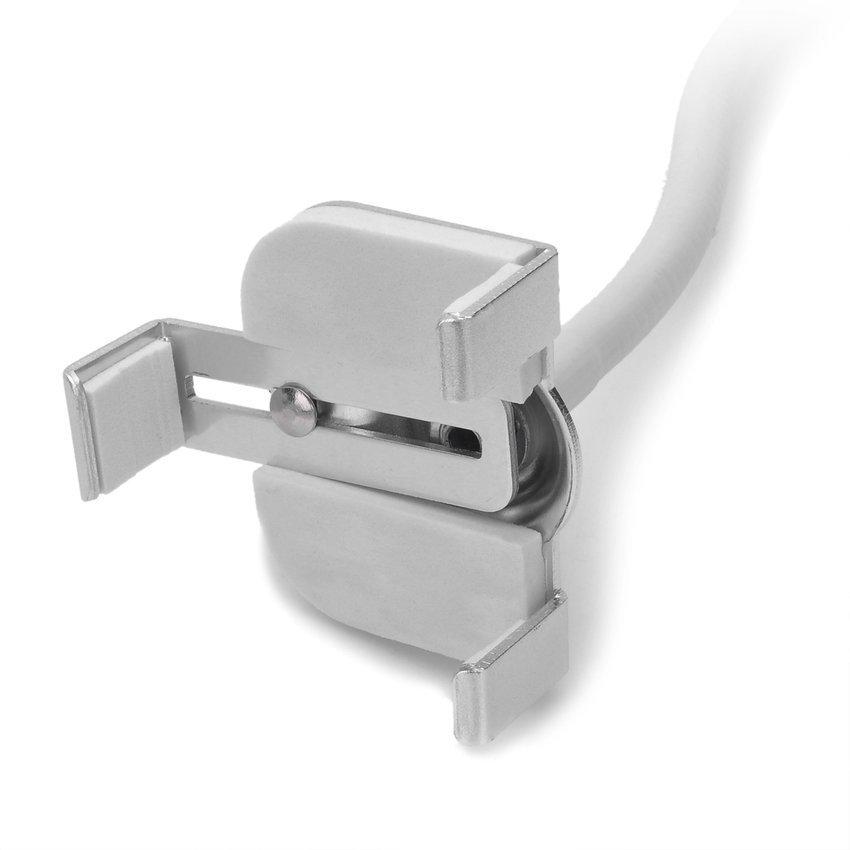 Freeker 360 Degree Rotation Aluminum Alloy Desktop Bracket for Iphone 4S White + Silver (Intl)