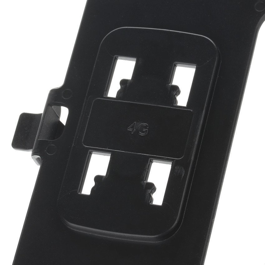 Freeker M08 360 Degree Rotation Scooter Bracket for Iphone 4 / 4S Black (Intl)