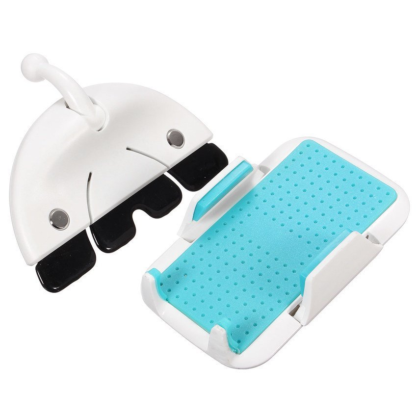 FSH Car CD Slot Mount Mobile Holder Stand Cradle For iPhone Samsung HTC White (Intl)