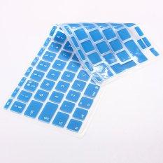 FSH Silicone Housse Keyboard Clavier Protection P Macbook Mac Pro 1.15 17 EU Model (Blue) (Intl)
