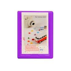 Fujifilm Instax 2NUL Korea Instax Mini Polaroid Album S - Ungu