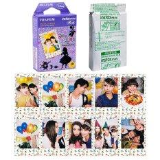 Fujifilm Instax Mini Alice In Wonderland Instant 10 Film For Fuji 7.8 2.50.70 90 / Polaroid 300 Instant Camera / Share SP-1 Printer (Intl)