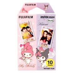 Fujifilm Refill Instax Mini Film Melody & Kuromi - 10 Lembar