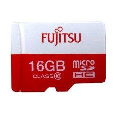 Fujitsu MicroSD Card 48MB/s 16GB + Gratis SD Adapter