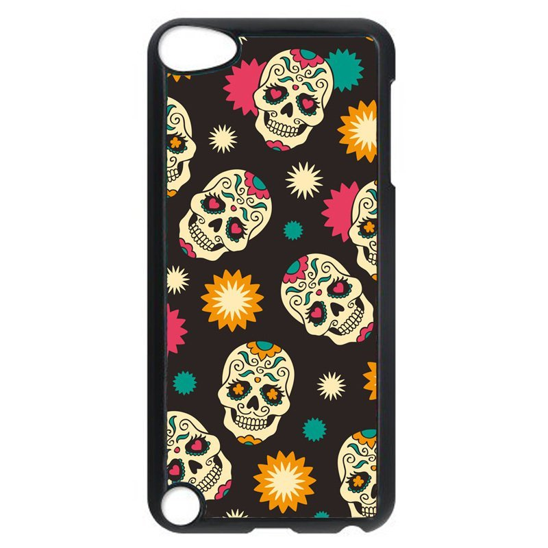 Funny Skull Pattern Phone Case for iPod Touch 4 (Black)