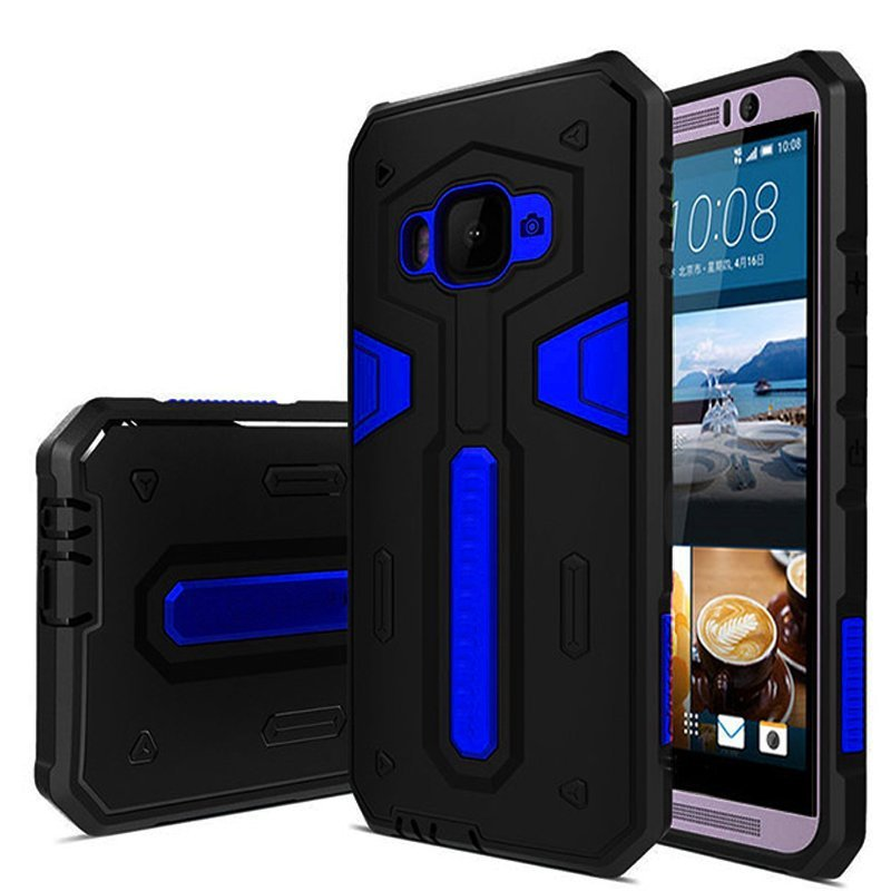Galaxy X Case Military Protection For Samsung Galaxy J5 + Gratis Ultra thin - Biru Dongker