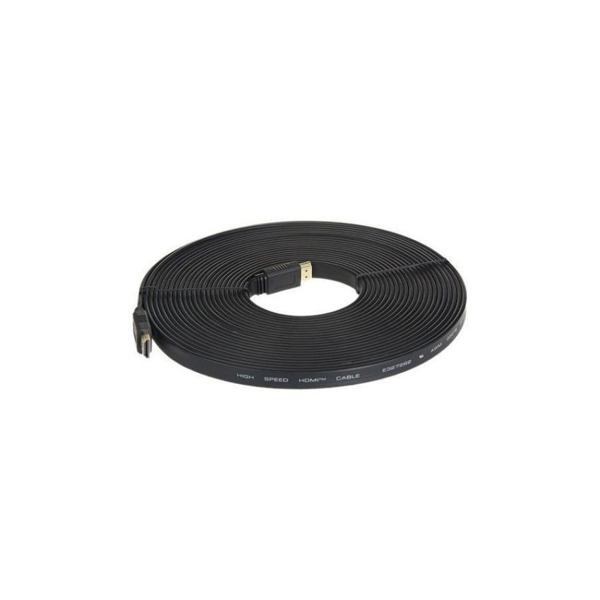 Generic 1.4 Version 10m 1080P Flat HDMI Cable (Black)