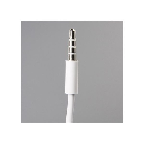 Generic 3.5mm Jack to 3.5mm Jack Audio Conversion Cable for iPhone 4G/3G/3GS (White)