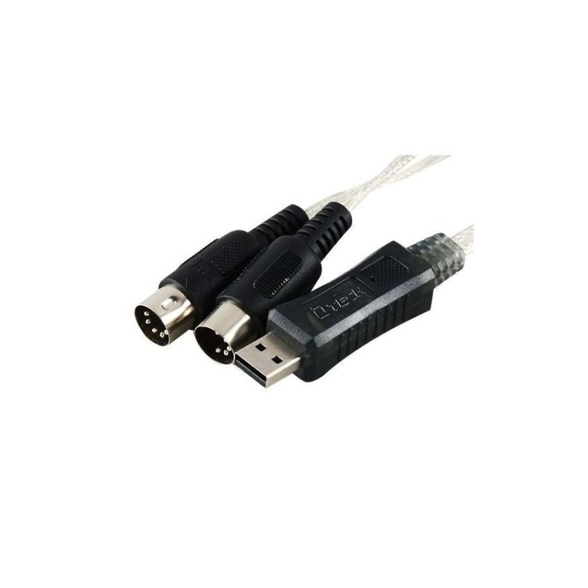 Generic DTECH DT 5022 1.1 m USB to MIDI Converter Adapter Cable