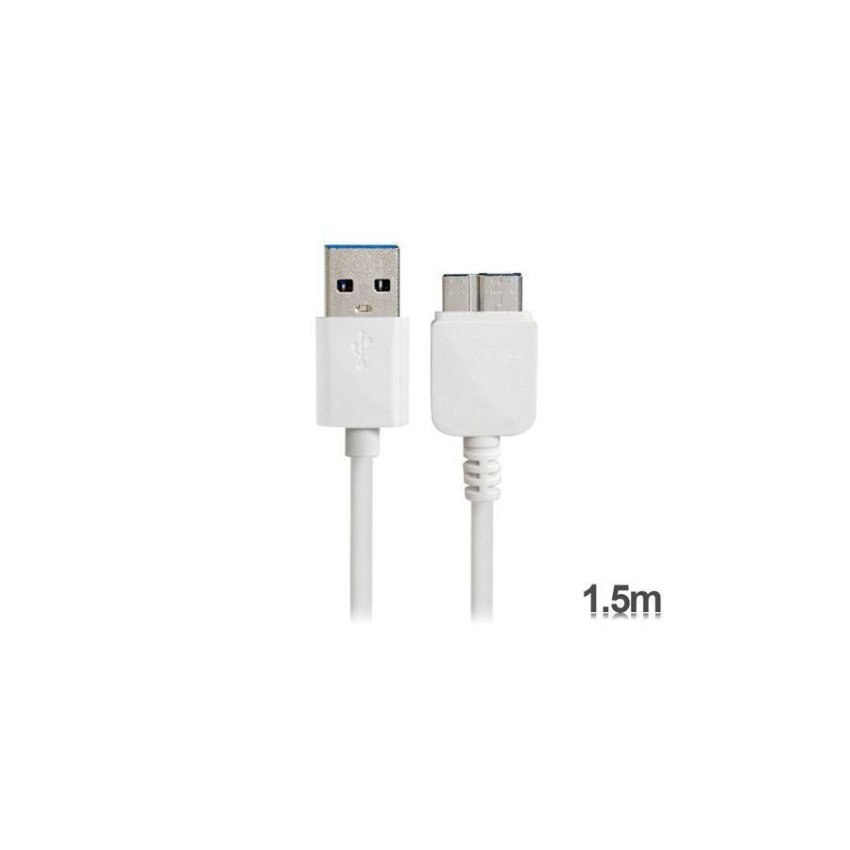 Generic KS U330 1.5 m USB 3.0 Charging Data Cable for Samsung Galaxy Note 3 N9000 (White)