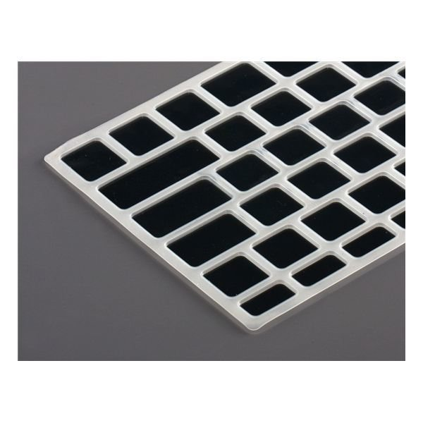 Generic Silicone Keyboard Protector with Keys for Apple Retina Macbook Pro 15&quot Laptop (Black)