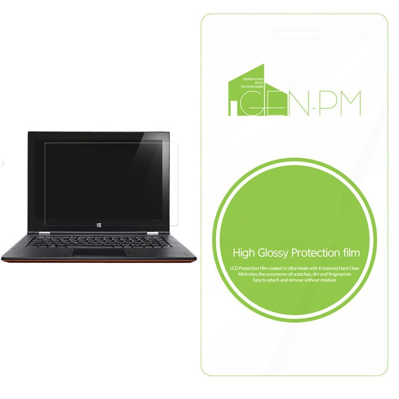 GENPM High Glossy Asus X200MA Laptop Screen Protector LCD Guard Protection Film
