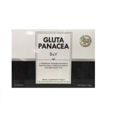 Gluta Panacea B & V by Pang - Isi 30 Kapsul - 1 kotak