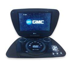 """GMC Portable DVD Player + TV 7"""" DIVX-808Q"""