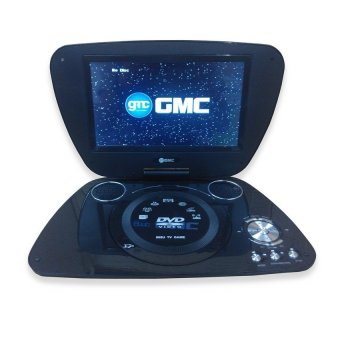 "GMC Portable DVD Player + TV 7"" DIVX-808Q"