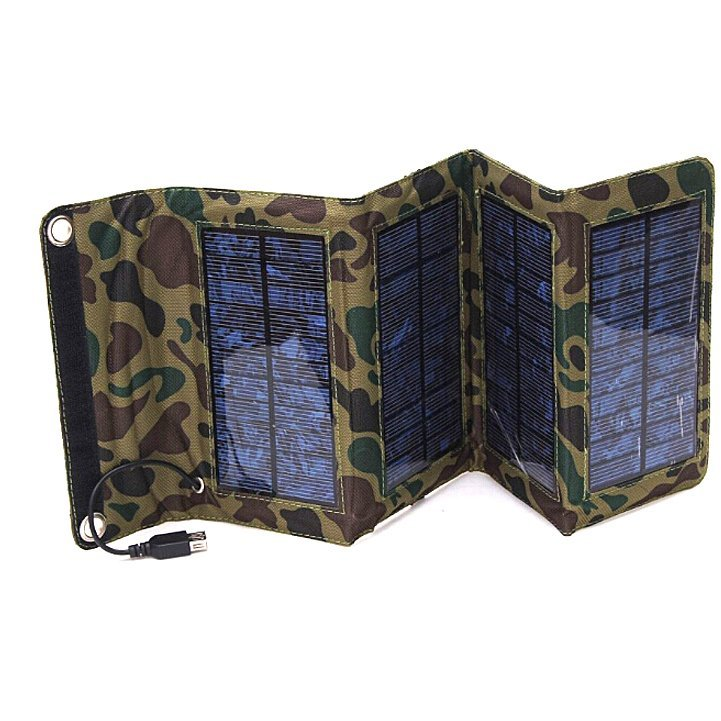 GOLDFOX 7W Solar Panel Foldable Solar Charger (Intl)