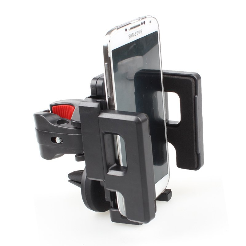 GOLDFOX A3959 Bike Bicycle Handlebar Phone Adjustable Mount Holder Cradle For Samsung Apple iPhone 5/5G/4/4S/GPS Black (Intl)