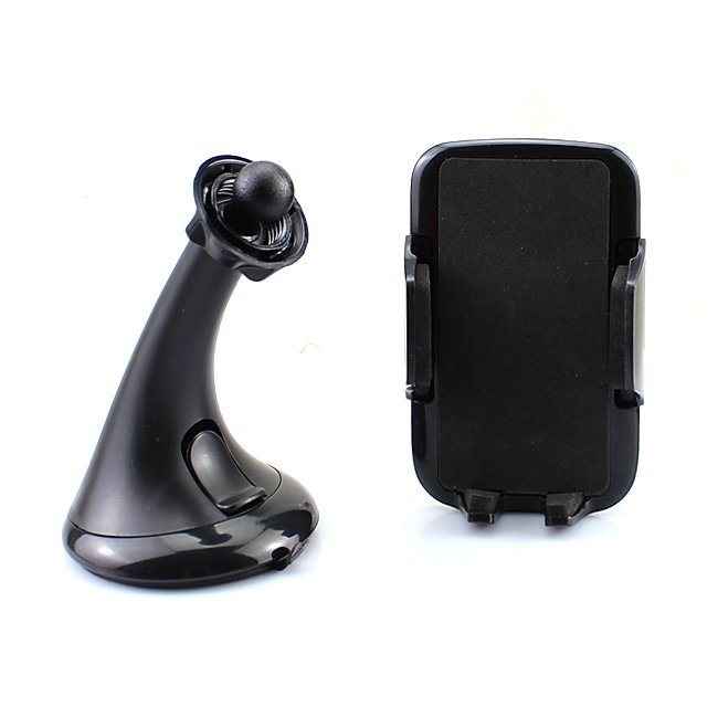 Goldfox Universal Car Windshield Suction Cup Mount Holder Cradle for Smartphones Cell Phone Black (Intl)